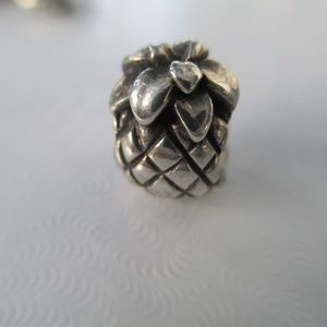 Pandora Original Pineapple Charm retired